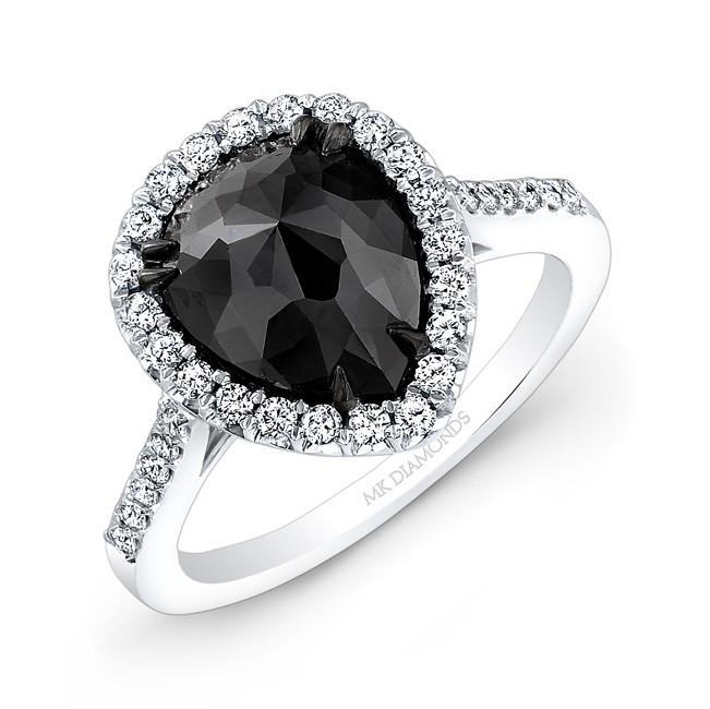 black engagement rings engagement rings