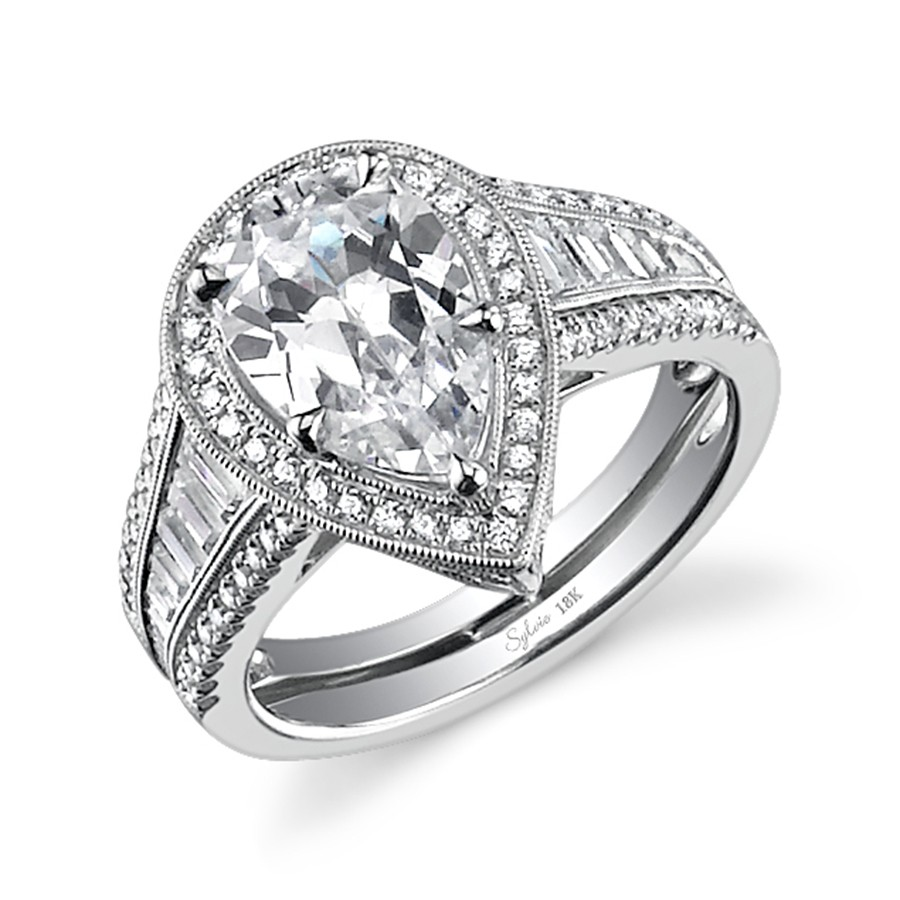 ct wang pear t c collection rings peoples vera w jewellers diamond double wedding love frame shaped twist engagement v